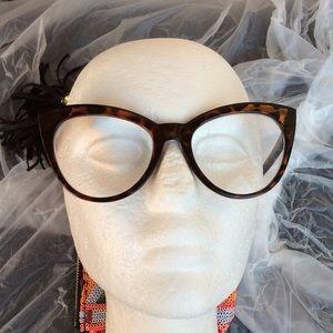 Betsey Johnson Tortoise Shell Reading Glasses